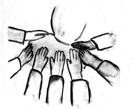 ordinācija caur roku uzlikšanu