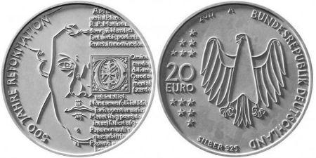 par godu reformācijas jubilejai izdos monētu