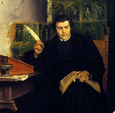 Par Lutera katehismu tapšana