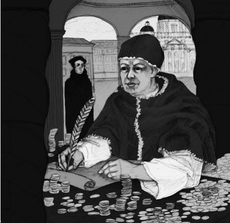 Pāvesta lāsti pār Luteru