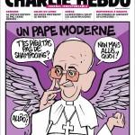 pāvests eņģelis Charlie Hebdo