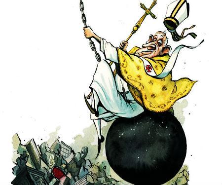 Pāvests piesavinās dievišķu varu un autoritāti