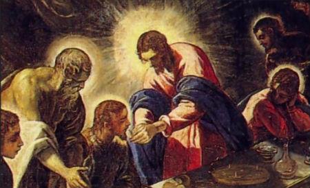 Pāvils un Marks par Svēto Vakarēdienu