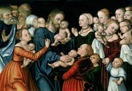 Pienest Jēzum mazus bērnus