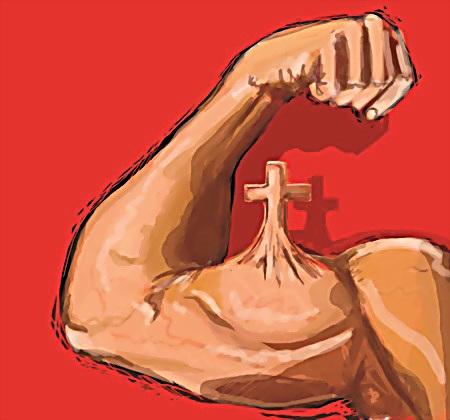 pietiekami stipra ticība