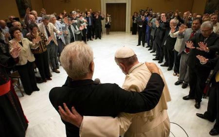 Romas pāvestība pielien luterāņiem