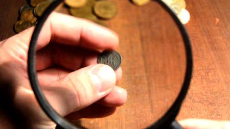 Senākā monēta ar Bībeles motīva attēlojumu