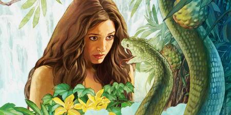 sieva teica čūskai