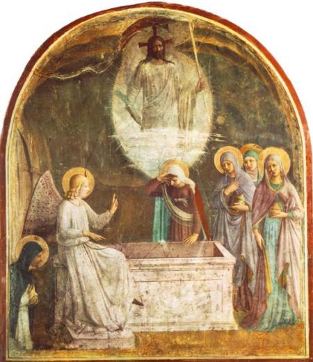 Fra Andželiko de Fjezole (1387–1455) Sievas pie kapa