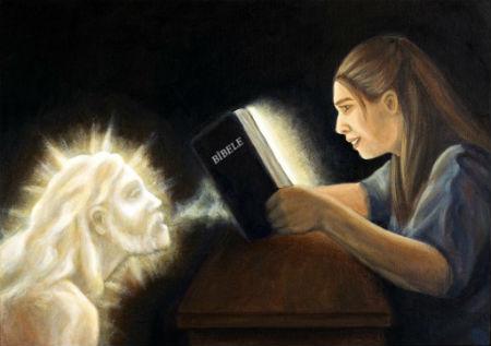Svētais Gars ir mums devis Dieva vārdu un darbojas saskaņā ar šo vārdu