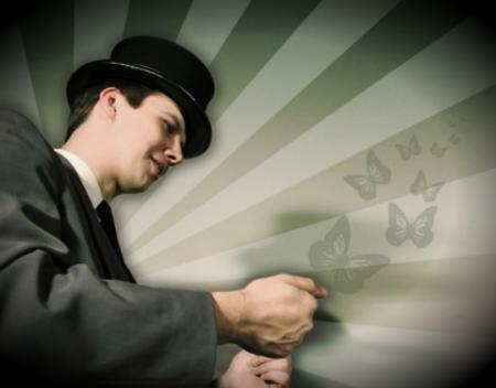 uzaicini kristīgo iluzionistu