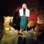 Daniels lauvu berdrē