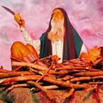 Ābrahams upurē Īzāku