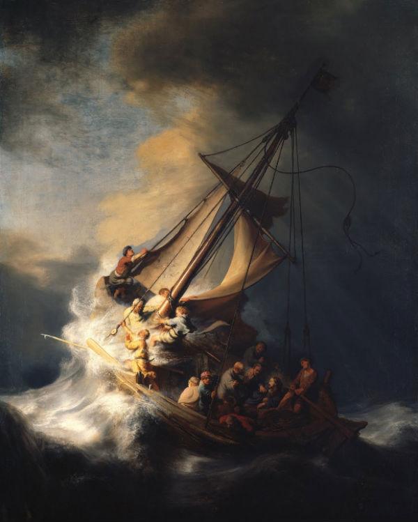 Vētra Galilejas jūrā