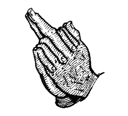 Vidējā pirksta lūgšana