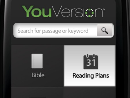 Viedierīču aplikācijā visbiežāk lasītais Bībeles pants