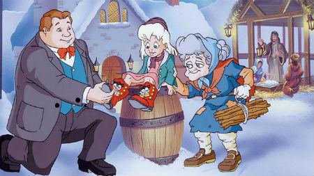 Ziemassvētku stāsts par sarkanajiem zābaciņiem