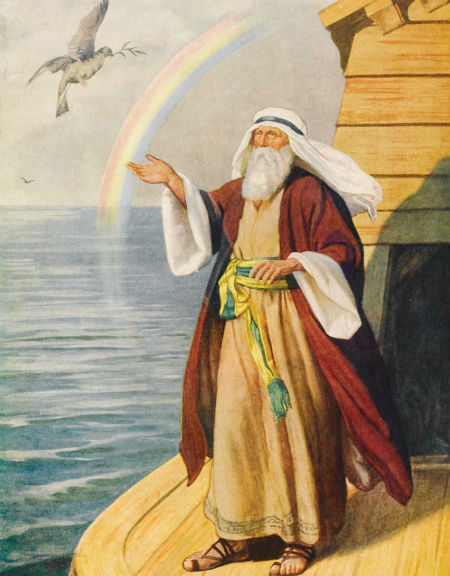 Zīme, ka Dieva dusmas ir pārgājušas